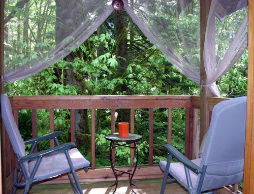 Whispering Waters cabin rental washington