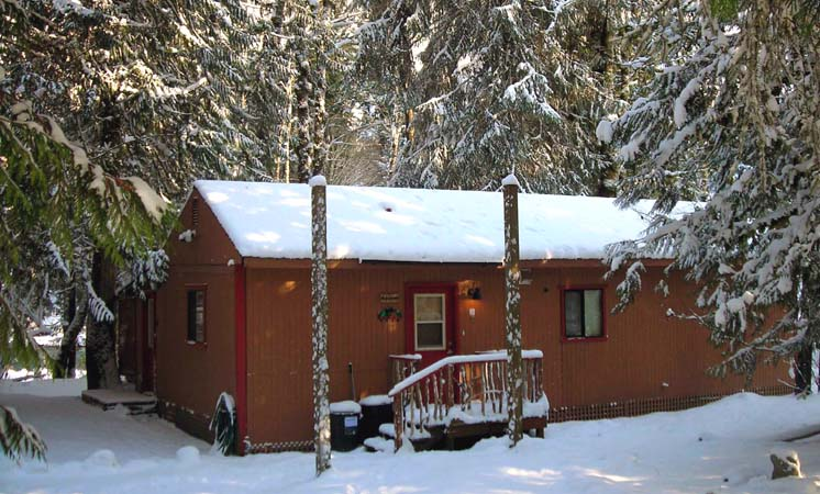 sky beach cabin snow