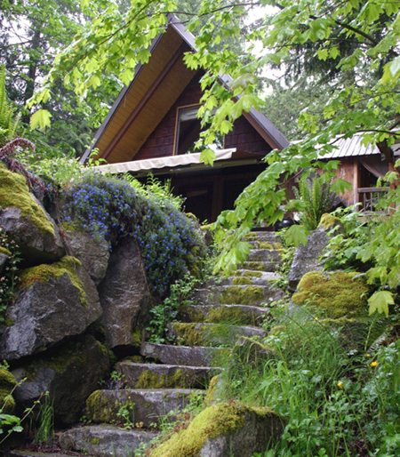 washington state romantic getaway rental vacation cabin
